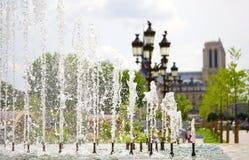 De zomer in Parijs Royalty-vrije Stock Foto