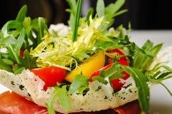 De zomer Plantaardige Salade Royalty-vrije Stock Afbeeldingen