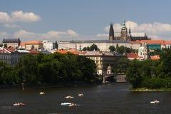 De zomer in Praag Royalty-vrije Stock Fotografie