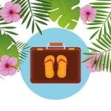 De zomer, reis en vakantie Stock Afbeelding