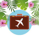 De zomer, reis en vakantie Stock Foto's