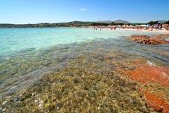 De zomer in Sardinige Royalty-vrije Stock Foto's