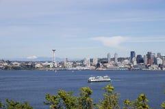 De zomer in Seattle Royalty-vrije Stock Afbeeldingen