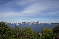 De zomer in Seattle Stock Fotografie