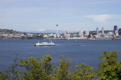 De zomer in Seattle Stock Afbeelding