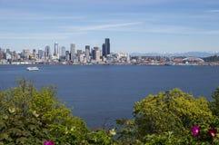 De zomer in Seattle Stock Afbeeldingen