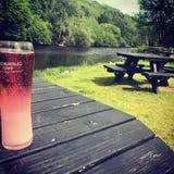 De zomer in Shropshire royalty-vrije stock foto