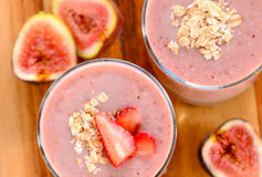 De zomer smoothie stock foto