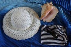 De zomer, strand, overzees Stock Foto's