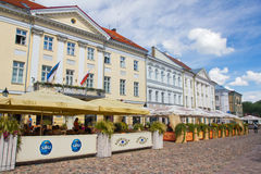 De zomer in Tartu royalty-vrije stock foto's