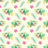 De zomer tropisch naadloos patroon vector illustratie