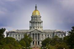 De Zomer van 2010 van het Capitool van Denver Royalty-vrije Stock Afbeelding