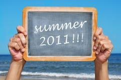 De zomer van 2011 Royalty-vrije Stock Fotografie
