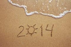 De zomer van 2014 Stock Afbeelding