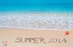 De zomer van 2014 Stock Foto