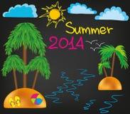 De zomer van 2014 stock fotografie