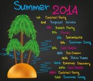 De zomer van 2014 Royalty-vrije Stock Foto's