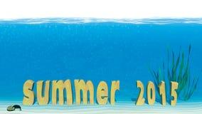 De zomer van 2015 Stock Foto
