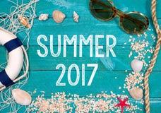 De zomer van 2017 Stock Afbeelding