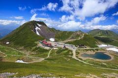 De zomer van Berg Stock Fotografie