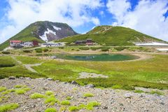 De zomer van Berg Stock Foto's