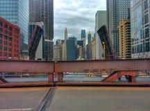 De zomer van Chicago Stock Foto