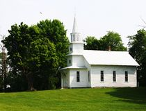 De Zomer van de Kerk van het land Royalty-vrije Stock Afbeelding