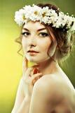 De zomer van de vrouw Royalty-vrije Stock Fotografie