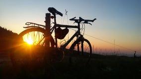 De zomer van het fietsavontuur Royalty-vrije Stock Afbeelding