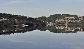 De zomer van Noorwegen Stock Fotografie