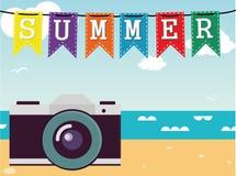 De zomer Vector Stock Foto's