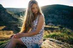 De zomer zonnevakantie Stock Foto's