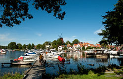 De zomer in Zweden Royalty-vrije Stock Afbeelding