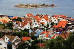 De zomer in Zweden Stock Foto's