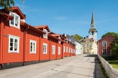 De zomer in Zweden Royalty-vrije Stock Foto