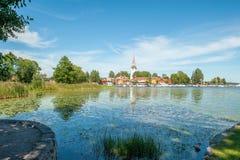 De zomer in Zweden Royalty-vrije Stock Foto's