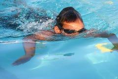 De zomer zwemt Stock Afbeeldingen