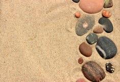 De zomerachtergrond Stock Afbeelding