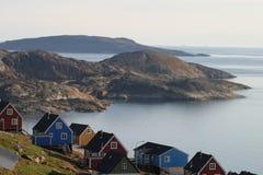 De zomeratmosfeer Groenland Royalty-vrije Stock Foto