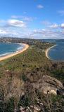 De zomerbaai Australië Stock Afbeeldingen