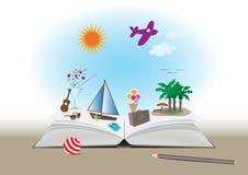 De zomerboek Royalty-vrije Stock Afbeelding