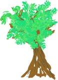 De zomerboom Royalty-vrije Illustratie