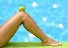De zomerconcept van het dieet royalty-vrije stock foto