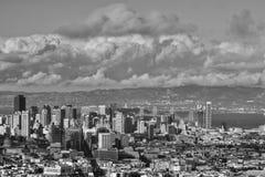 De zomerdag in San Francisco California royalty-vrije stock foto's