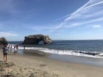 De zomerdag in Santa Cruz stock foto's