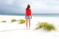 De zomerdagen bij het Strand royalty-vrije stock foto