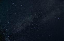 De zomerdriehoek van sterren Stock Foto