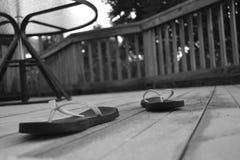 De zomerdroefheid Stock Foto