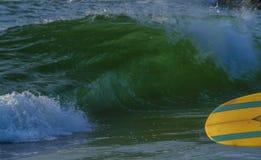 De de zomergolven sluiten omhoog bij Manasquan-Strand Royalty-vrije Stock Afbeeldingen