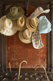 De zomerhoeden Royalty-vrije Stock Foto's